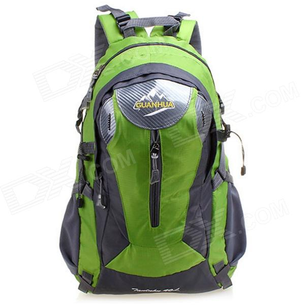 GUANHUA Outdoor Sports Nylon + Polyester Backpack - Green (40L) outdoor sports pockets sv012199