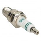 W7DC F6TC Replacement Spark Plug - White + Silver