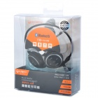 Suicen AX-698 Bluetooth V4.0 Neckband Headphone w/ Microphone / FM / TF - Black + Silver