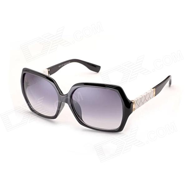 Reedoon 7671 Classic Fashion Ladies' Sunglasses - Black reedoon 1417 trend of the goddess hip hop sunshade sunglasses black golden