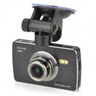"GT600 2,7"" TFT HD 1080P 5.0MP 170 ° vidvinkel nattsyn CMOS bil DVR video recorder - svart"