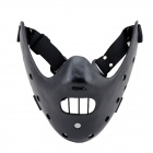 The Silence Of The Lambs Hannibal Resin Mask - Black