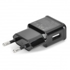 2A 5V EU Plug Power Adapter w/ Data Cable for Samsung Note 3 / N9000 / Galaxy S5 - Black (100~240V)