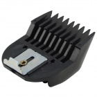 Plastic Hair Cutting Clipper Limit Comb Set - Preto (4 PCS)