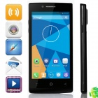 "DOOGEE LATTE DG450 MTK6582 Quad-Core Android 4.2.9 WCDMA Bar Phone w/ 4.5"" IPS, GPS - Black"
