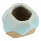 JDZ Ceramic Succulent Plant Flowerpot w/ Bottom Hole