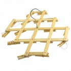 16-Clip Multi-function Bamboo Holder