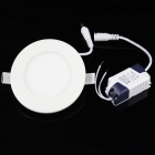 KINFIRE K-12W 12W 980lm 3000K 60-SMD 3528 LED Warm White Circular Ceiling Lamp - White (AC 85~265V)