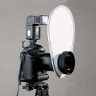 Cloth Camera Lens Diffuser - White