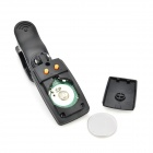 Mini Clip-on Plastic Tuner for Wind Instruments / Guitar / Bass / Violin / Ukulele - Black