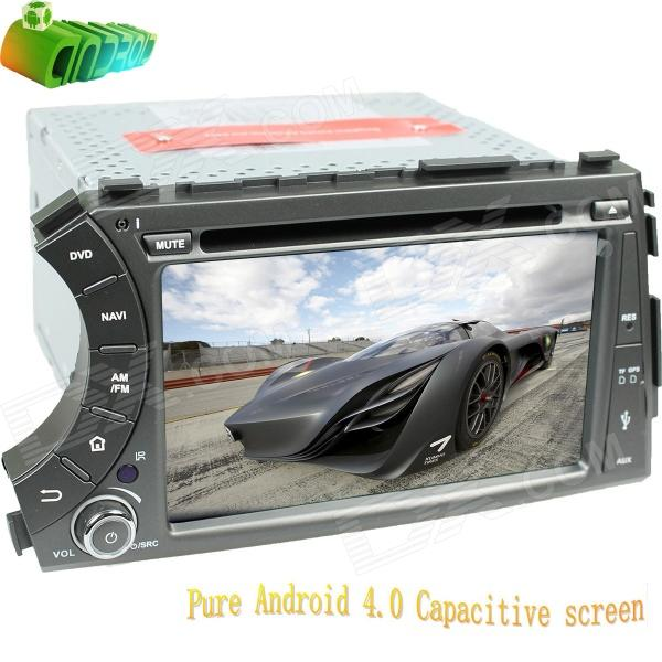 LsqSTAR 7 Android Capacitive Screen 2-Din Car DVD Player w/ GPS Radio BT SWC AUX for Kyron/ Actyon блокада 2 dvd