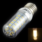HZLED E27 4W 400lm, 3000K, 36-SMD 5630 LED Warm White Light Mais-Lampe - Weiß (AC 220 ~ 240V)