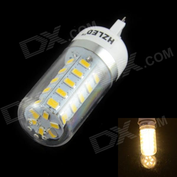 HZLED G9 4W 400lm 3000K 36-SMD 5630 LED Warm White Light Corn Lamp - White (AC 220~240V)