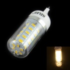 HZLED G9 4W 400lm, 3000K, 36-SMD 5630 LED Warm White Light Mais-Lampe - Weiß (AC 220 ~ 240V)