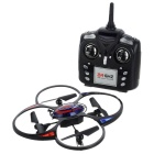 2.4GHz 4-CH Quadcopter with Gyro / Lighting Remote Control Stunt - Black and Red - R/C Airplanes and Quadcopters Hobbies and Toys