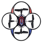 2.4GHz 4-CH Quadcopter w/ Gyro / Lighting Remote Control Stunt - Black + Red