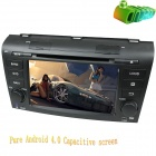 "LsqSTAR 7"" Android 4.0 Capacitive Car DVD Player w/ GPS Radio BT ATV Wi-Fi SWC AUX for Old Mazda 3"