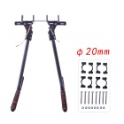 HJ-1100P fibra de carbono Retractable Landing Gear Skid Set para DJI S800 / S800 EVO Multicopters
