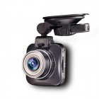 Full HD 1080P 5.0MP 170' CMOS G-sensor Loop Recording Car DVR Camcorder - Black + Silver