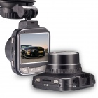 "GS501 Full HD 1080P 5.0MP 170"" CMOS G-sensor Car DVR - Black + Silver"