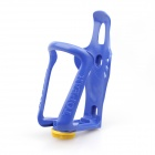 Convenient PC Adjustable Bicycle Kettle Holder - Blue + Yellow