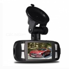 Novatek Full HD 1080P 3.0MP CMOS G-sensor Loop Recording 140' Angle Car DVR - Black