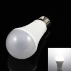 SKLED E27 10W 780lm 6000K 32-3014 SMD LED White Light Dimmable Bulb - White (AC 110V)