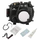 Meikon C00751 Underwater Diving Camera Waterproof Cover Case for Canon 70D - Black