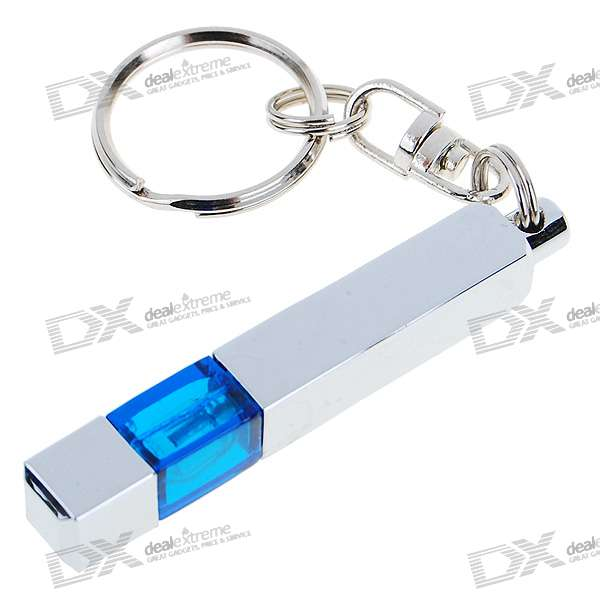 Anti-Static/Static Removal Prevent Shock Keychain (Silver Square)