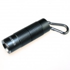 ALETO KL251H LED 900lm 3-Mode White Light Flashlight w/ Keychain - Grey (1 x 16340)