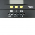 "TWP Solar30 2.4"" LCD 30A 12V /24VPV Panel Battery Charge Solar Controller - Black"