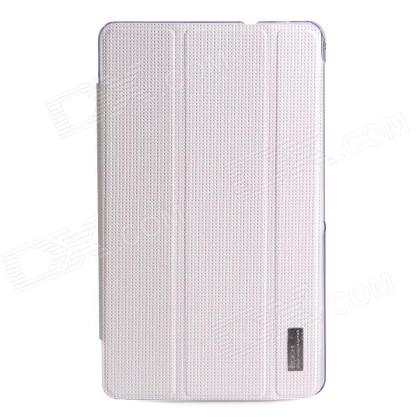 ROCK Protective PU Leather + PC Case Cover for Samsung Galaxy Tab Pro 8.4 T320 / T321 - White