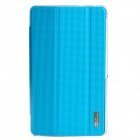 ROCK 662911 Protective PU Leather + PC Case Cover for Samsung Galaxy Tab Pro 8.4 T320 / T321 - Blue
