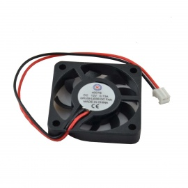 AV-0.13A 2-Pin HDD 9-Blade Cooling Fan - Black + Red (12V / 40 x 0.7mm)