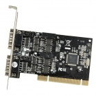 PCI to 485 + 422 Card / Board - Black + Silver