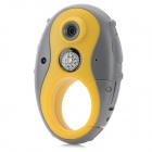 F8 Outdoor Sports 1.3MP Camera w/ Compass - Yellow + Grey