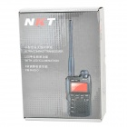 "NKT NKT-R3 3.7V 1.35"" Display 100-CH Full Band Wireless Walkie Talkie - Black"