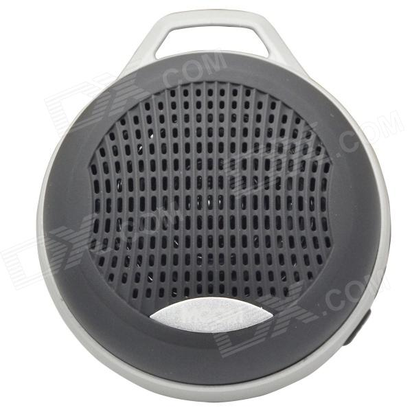 цена на MGOM X5 Superior Quality Bluetooth V3.0 + EDR Speaker w/ TF / 3.5mm Jack / FM / Microphone - Black
