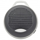MGOM X5 Superior Quality Bluetooth V3.0 + EDR Speaker w/ TF / 3.5mm Jack / FM / Microphone - Black