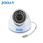 JOOAN JA-570MRB Sony Effio-E Surveillance Dome Camera w/ 24-IR LED - White (PAL)