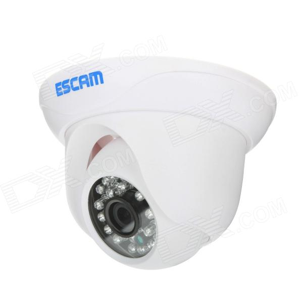 ESCAM Snail QD500 720P 1MP Wi-Fi Waterproof Surveillance IP Camera w/ Night Vision – White