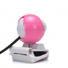 BLUELOVER M6 Free Drive HD 5.0 MP Camera w/ Microphone - Pink + White