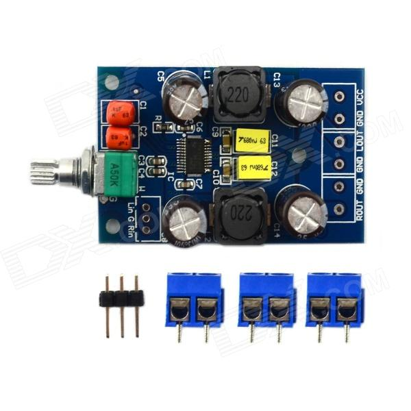 MaiTech 03100201M Digital Amplifier Board - Blue + Black 100% original mean well epp 100 27 27v 2 8a meanwell epp 100 27v 75 6w single output with pfc function [real1]