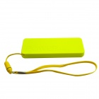 "Ultrasottile portatile ""3000mAh"" Li-polimeri batteria Mobile Power Bank - giallo"