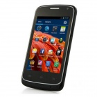 G7106i MTK6572 Dual Core Android 4.2 GSM Bar Phone w/ 3.5'', GPS, Wi-Fi, FM - Black + Silver
