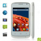 G7106i MTK6572 Dual Core Android 4.2 GSM Bar Phone w/ 3.5'', GPS, Wi-Fi, FM - White + Silver