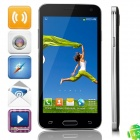 "W800 MTK6582 Quad-Core Android 4.2.2 WCDMA Bar Phone w/ 4.5"" IPS, 1GB RAM, Wi-Fi, GPS - Grey"