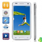 "W800 MTK6582 Quad-Core Android 4.2.2 WCDMA Bar Phone w/ 4.5"", 4GB ROM, Wi-Fi, GPS - White"