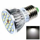 E27 8W 480lm 16-SMD 5630 LED Cold White lampun (AC 85 ~ 265V)