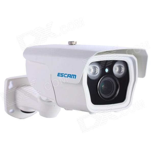 ESCAM Q1039 impermeable 1080P CMOS 3-12mm lente IP de la cámara de red